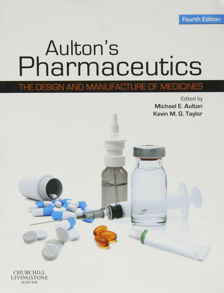 Aulton Pharmaceutics Cover