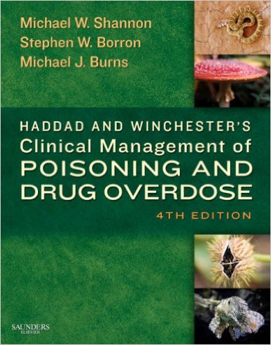 Clinical Management of Poisoning and Drug Overdose 4th edition