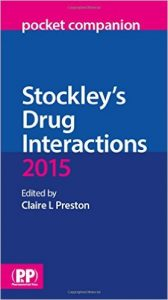 Stockley's Drug interactions pocket companion