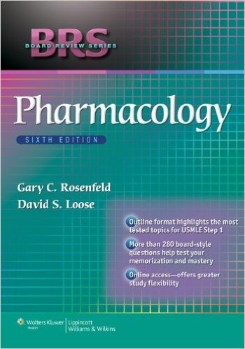 BRS Pharmacology (Board Review Series) 6th Ed