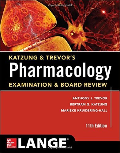 Katzung & Trevor's Pharmacology Examination and Board Review,11th Ed