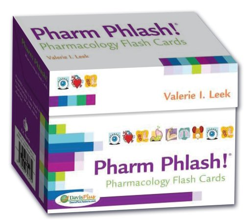 Pharm Phlash Cards!: Pharmacology Flash Cards 2nd ED
