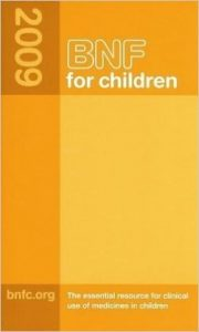 Bnf for Childern 2009 (British National Formulary for Children) 1st Ed