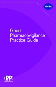 Good Pharmacovigilance Practice Guide 1st Ed
