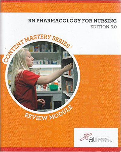 RN Pharmacology for Nursing 6 Ed