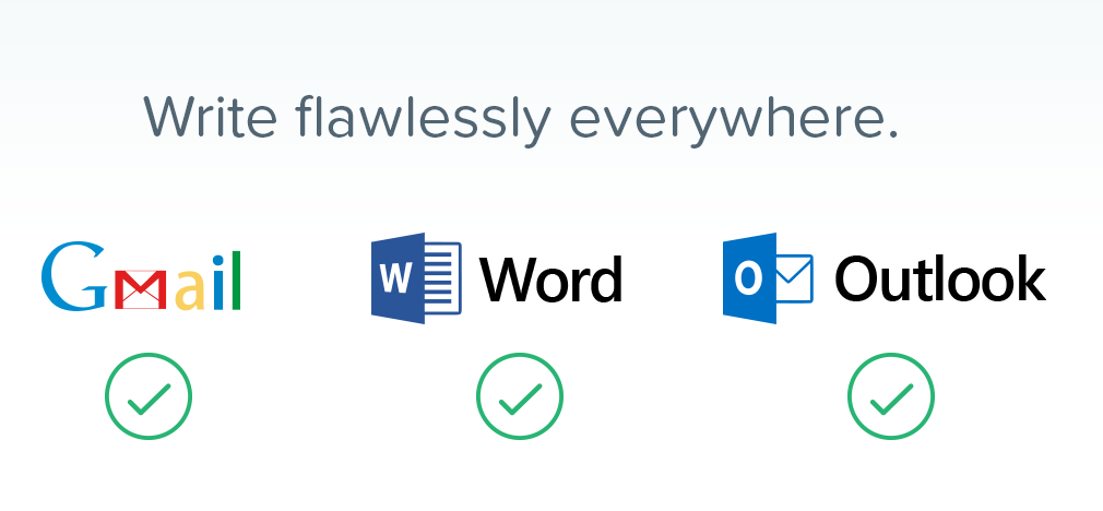 Write flawless grammar with grammarly.com safe extension