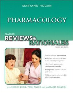 "Pearson Reviews & Rationales: Pharmacology with ""Nursing Reviews & Rationales 3rd Ed"