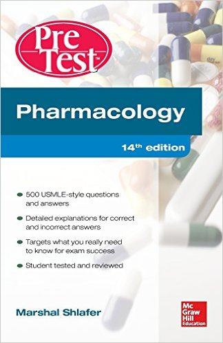 Pharmacology PreTest Self-Assessment and Review 14th Ed