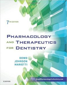 Pharmacology and Therapeutics for Dentistry 7th Ed