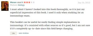 Readers Reviews on Color Atlas of Immunology